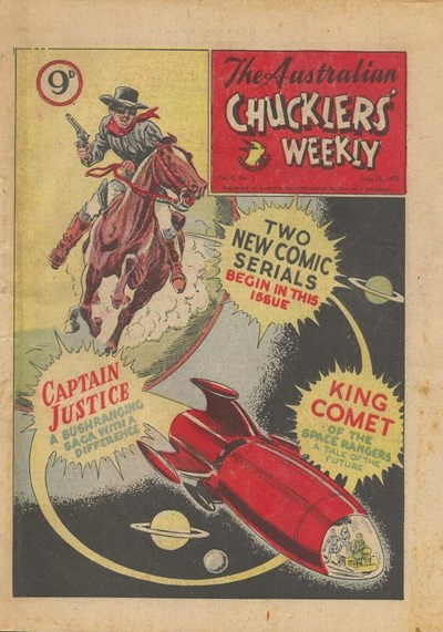 The Australian Chucklers' Weekly (ACP, 1958 series) v5#3 (16 May 1958)