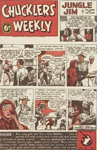 Chucklers' Weekly (Consolidated Press, 1954? series) v1#1 (30 April 1954)
