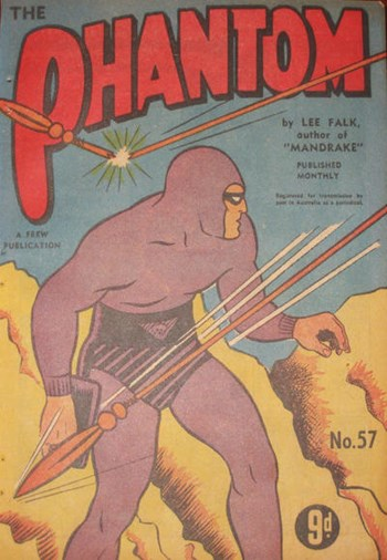 The Phantom (Frew, 1948 series) #57 (April 1953)