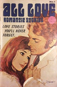 All Love Romantic Stories (Sport Magazine, 1972 series) #1 ([May 1972?])
