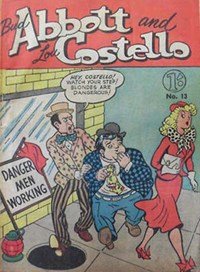 Bud Abbott and Lou Costello (Frew, 1955 series) #13 ([January 1956?])