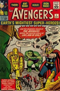 The Avengers (Marvel, 1963 series) #1 — Untitled