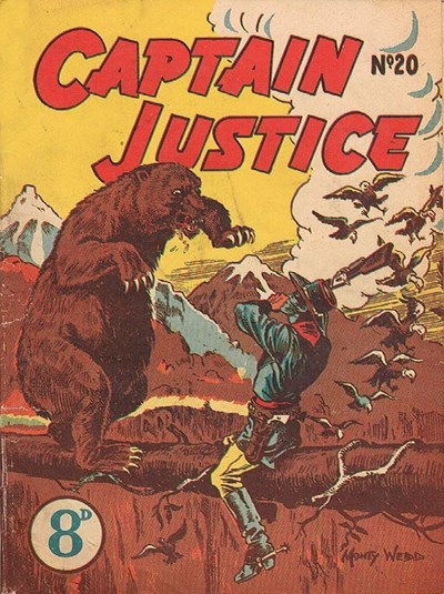 Captain Justice (New Century, 1950 series) #20 ([July 1952?])