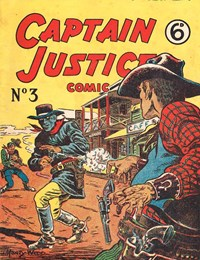 Captain Justice (New Century, 1950 series) #3 ([February 1951?])