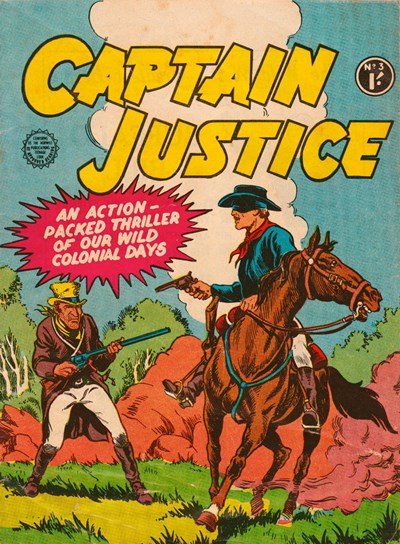 Captain Justice (Horwitz, 1963 series) #3 ([May 1963?])