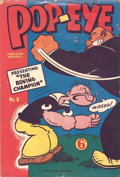 Pop-Eye (Frew, 1949 series) #8 (1949)