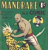 Mandrake Comic (Consolidated, 1953 series) #8 (November 1953)
