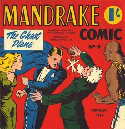 Mandrake Comic (Consolidated, 1953 series) #9 (February 1954)