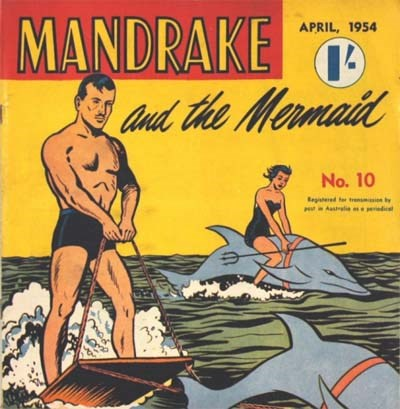 Mandrake Comic (Consolidated, 1953 series) #10 (April 1954)