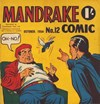Mandrake Comic (Consolidated, 1953 series) #12 (October 1954)