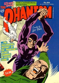 The Phantom (Frew, 1983 series) #994 — The Cathedral Mystery