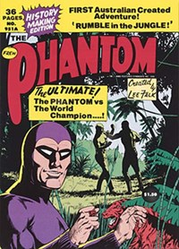 The Phantom (Frew, 1983 series) #951A — History Making Edition