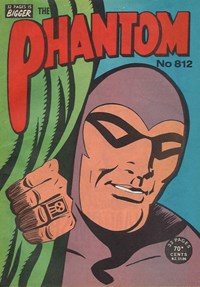 The Phantom (Frew, 1948 series) #812 — Untitled (Cover)