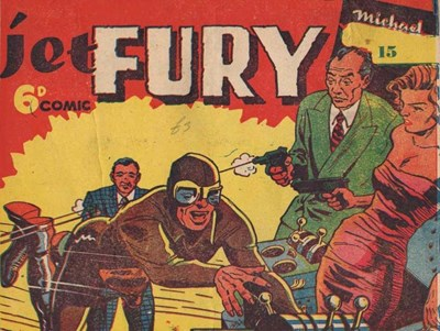 Jet Fury (Pyramid, 1951 series) #15 ([1951?])