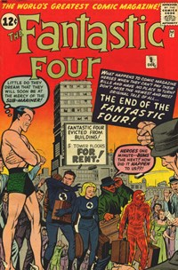 Fantastic Four (Marvel, 1961 series) #9 — The End of the Fantastic Four!
