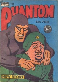 The Phantom (Frew, 1983 series) #738 ([February 1982?])