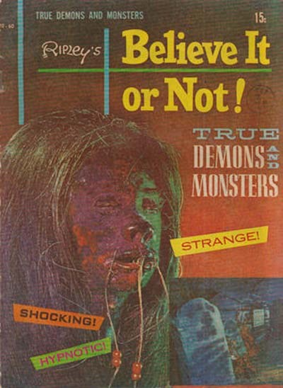 Ripley's Believe It or Not! True Demons and Monsters (Magman, 1973?) #? ([1973?])
