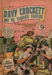 Davy Crockett and the Frontier Fighters (Colour Comics, 1955 series) #2 ([1955?])