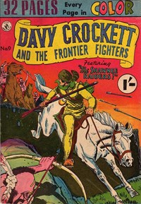 Davy Crockett and the Frontier Fighters (Colour Comics, 1955 series) #9 ([1956?])
