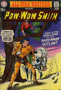 "All-Star Western (DC, 1970 series) #1 — ""What is the challenge of the Fadeaway Outlaw?"""