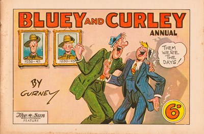 "Bluey and Curley (""Truth"" and ""Sportsman"", 1942? series)  ([1946?])"