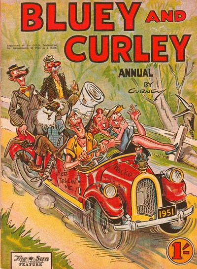Bluey and Curley Annual (Herald, 1946? series)  ([1951?])