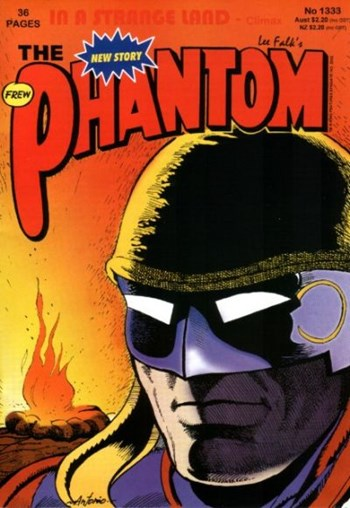 The Phantom (Frew, 1983 series) #1333 (October 2002)