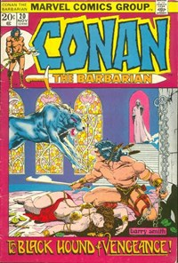 Conan the Barbarian (Marvel, 1970 series) #20 (November 1972)