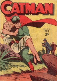 The Adventures of Catman (Frew, 1957 series) #11 ([1958?])