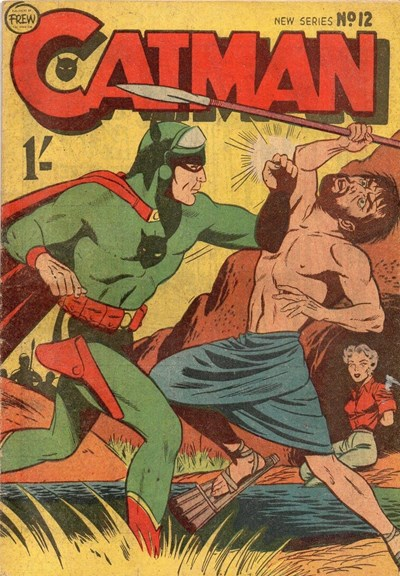 The Adventures of Catman (Frew, 1957 series) #12 ([1958?])