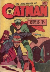 The Adventures of Catman (Frew, 1957 series) #2 ([November 1957?])