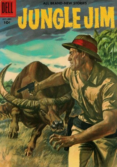Jungle Jim (Dell, 1954 series) #10 (October-December 1956)