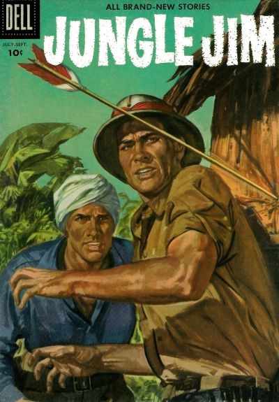 Jungle Jim (Dell, 1954 series) #9 (July-November 1956)