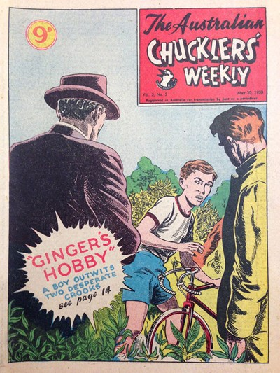 The Australian Chucklers' Weekly (ACP, 1958 series) v5#5 (30 May 1958)