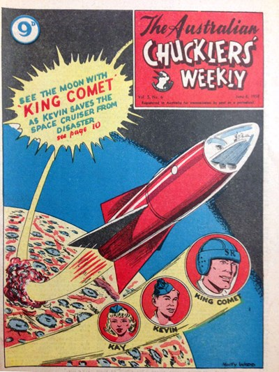 The Australian Chucklers' Weekly (ACP, 1958 series) v5#6 (6 June 1958)