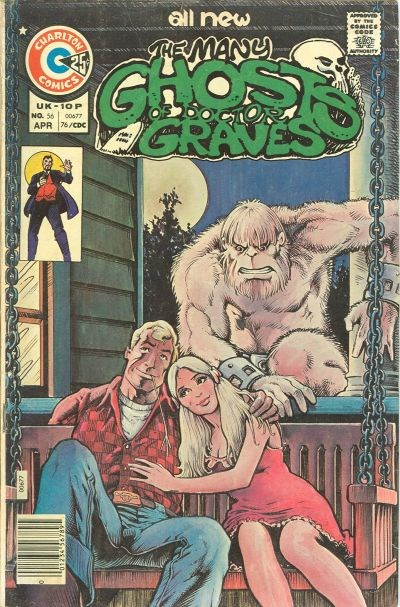 The Many Ghosts of Dr. Graves (Charlton, 1967 series) #56 (April 1976)
