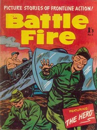 Battle Fire (Jubilee, 1958? series) #11