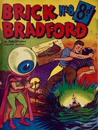 Page 1—Brick Bradford (Invincible, 1954 series) #8  ([1954?])