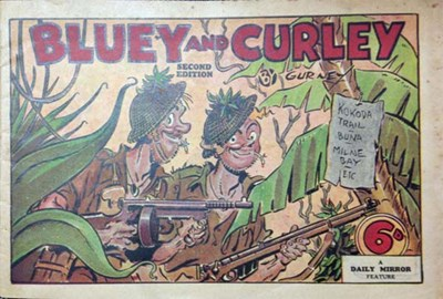 "Bluey and Curley (""Truth"" and ""Sportsman"", 1942? series)  ([194-?]) —Second Edition"