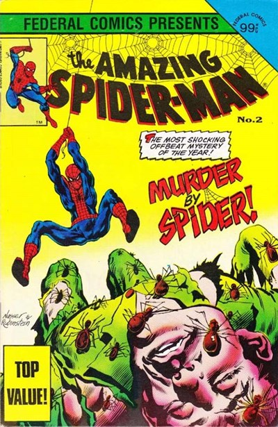 The Amazing Spider-Man (Federal, 1984 series) #2 ([July 1984?])