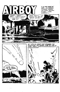 Airboy (AGP, 1953? series) #1 — Untitled (page 1)