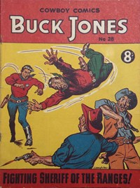 Buck Jones Cowboy Comics (AP, 1949 series) #28