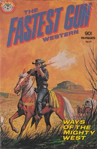 The Fastest Gun Western (Murray, 1977 series) #41 — Untitled (Cover)