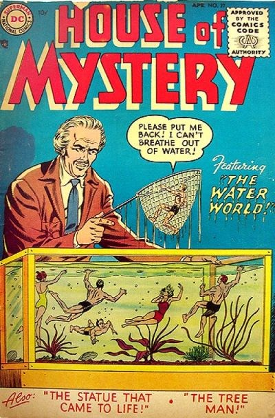 House of Mystery (DC, 1951 series) #37 (April 1955)
