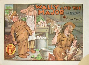 Wally and the Major [Advertiser]