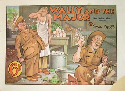 Wally and the Major [Advertiser] (Herald and Weekly Times, 1942 series) #2 (December 1943)