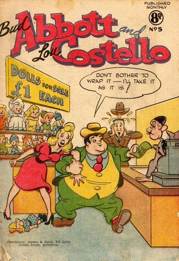 Bud Abbott and Lou Costello (Frew, 1955 series) #5 ([1955?])