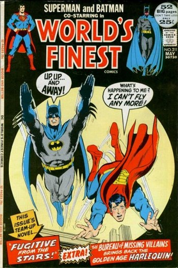 World's Finest Comics (DC, 1941 series) #211 (May 1972)