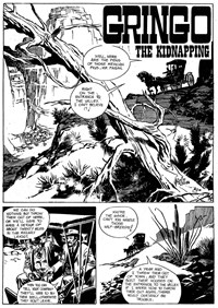Gun Western (Gredown, 1982?)  — The Kidnapping (page 1)