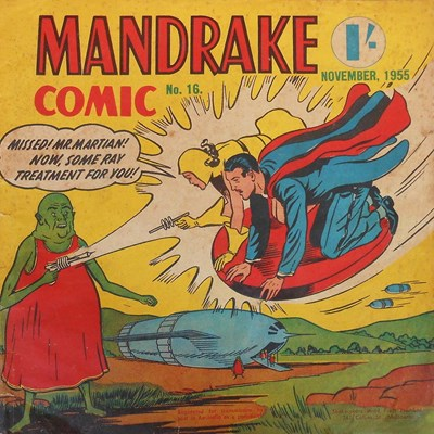 Mandrake Comic (Shakespeare Head, 1955 series) #16 (November 1955)